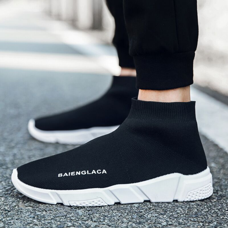 2018 New Summer Shoe Woman Sock Footwear Zwart Dames Sneakers Vrije - Damesschoenen