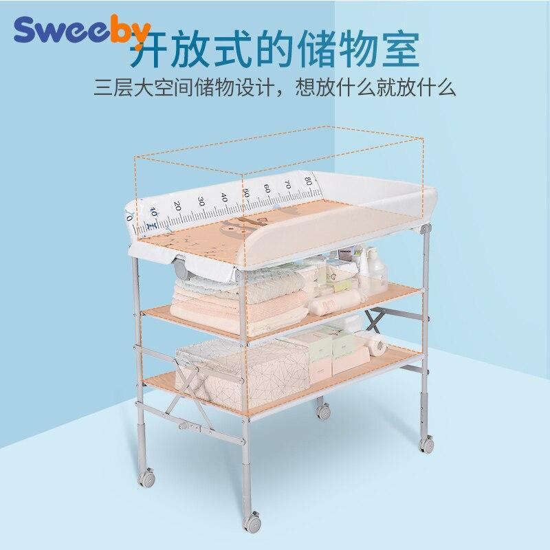 Mesa de Massagem Bebê Multifuncional Mesa Dobrável Mesa