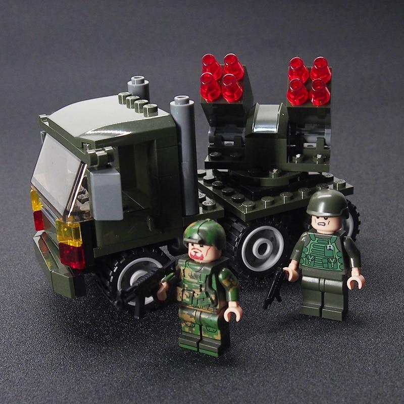 Mini Counter Strike Military Weapon Tank Gun soldier Set Army Building brick Kids Toys Sets toys for children