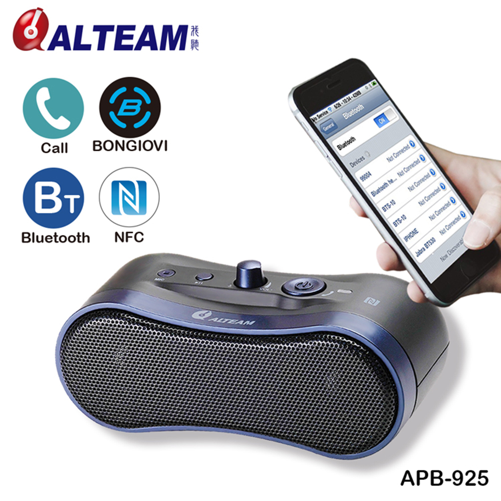 Portable Handsfree Subwoofer Bass Stereo Audio Wireless Bluetooth Speaker With Mic For Mobile Phone Computer Music MP3 Player original lker bluetooth speaker wireless stereo mini portable mp3 player audio support handsfree aux in