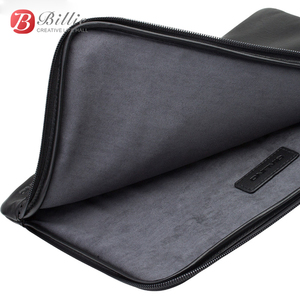 Image 3 - Laptop Sleeve Pouch Case Bag For New Macbook Pro 13 inch Case Genuine Leather For macbook 13 A1706/A1708 Notebook Laptop Cover