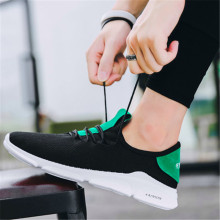 New product 2019 spring and autumn mens hot sale mesh face fashion casual breathable running shoes