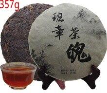 Envío libre del puer té de árbol grande porno madura puerh viejo sliming té negro pu er té 357g del puer té