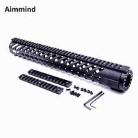 15 inch Keymod handguard Free Float Rifle Style ar 15 AR15 Handguard