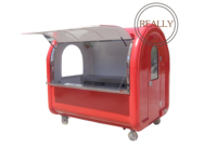 Stainless steel commercial hamburgers carts food cart for sale philippines