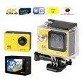 2017 New Eken H9 Ultra HD 4 K Câmera de Ação 1080 P/60fps 2.0 '170D tela lente Capacete Cam Ir 30 m À Prova D' Água Câmera esporte wi-fi
