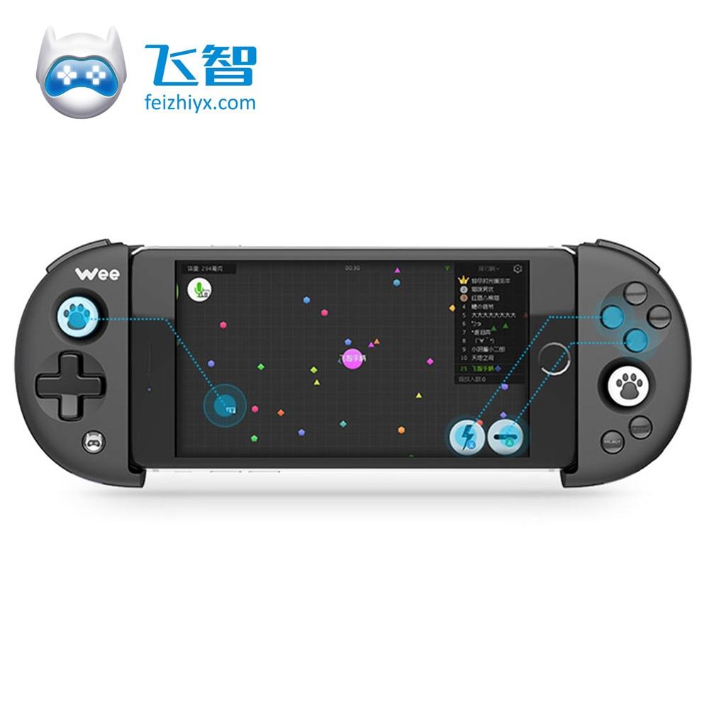 FlyDiGi Bluetooth Wireless Game Controller Adjustable Ergonomics For iPhone For Android Compatibility Buttons Control Joystick flydigi x9et pro non vibration mobile game handle controller