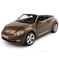 Proportion 1:18 Volkswagen Beetle Die Casting Model Automobile Toys New Inner Box Gift/Collection/Children/Decoration