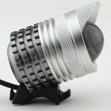 1800 Lumens Zoomable 2 in 1 CREE XM-L T6 3-Mode LED Bike Light Headlamp Headlight Head Lamp & 8.4v Battery Pack & Charger