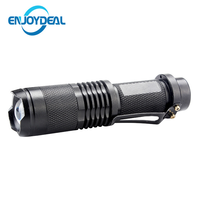 Adjustable Focus 3 Mode UV LED Flashlight Torch 395nm Ultra Violet Purple Light Penlight 18650 Battery For Fluorescent detection