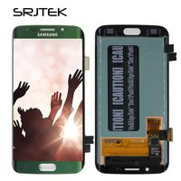 Srjtek For Samsung Galaxy S6 Edge G925F LCD Display Touch Digitizer Sensor Glass Assembly For S6