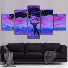 5 Piece GAMING Glider Poster on Canvas for Home Decor F5V1