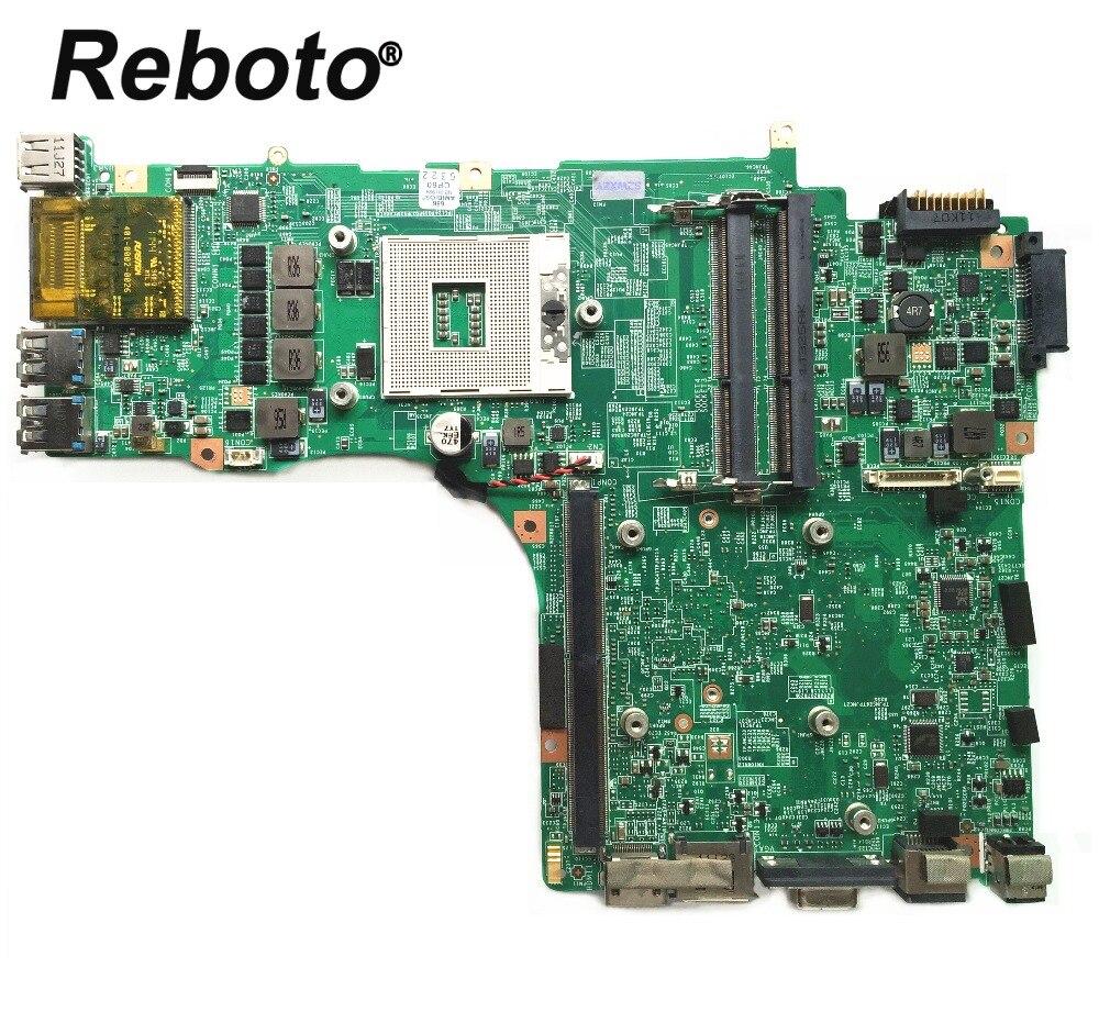 Reboto For MSI GX780R GT780 GT780R GT780DXR Laptop Motherboard MS 17611 REV 1 1 DDR3 HM67