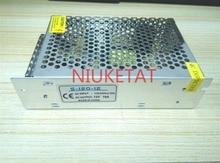 1pcs DC 12V 10A 120W AC 110/220V 15% S-120-12 Switching power supply RGB LED strip 5050/3528 drive power adapter 12V10A AC to DC