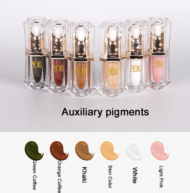 High Quality 5pcs 15ml Professional Cosmetic Manufacturer Microblading Pigment Permanent Makeup Eyebrow and Lip Tattoo Ink 20