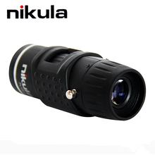 Nikula 7X18 Pocket Monocular automatic focus Mini telescope for Outdoor Camping necessary Low weight With carry pouch Teleskop