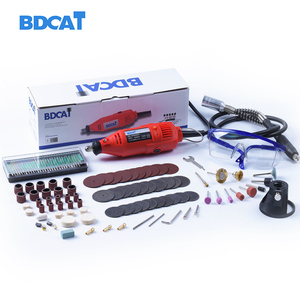 Image 1 - bdcat 180W Electric Dremel engraver Variable Speed Rotary grinder Tool Mini Drill with 140pcs Power Tools accessories