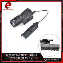Element M720V Tactical Airsoft Pistol Light Strobe Output Version Softair Flashlight LED Fit 20mm Picatinny Weaver Rail