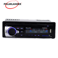 Bluetooth Car Radio MP3 Player FM Auto Audio Stereo LED display 12V Hands free SD AUX IN USB 1 din FM Player hands free call