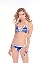 Stripe Bikini Set 2017 New Biquni Sexy Swimsuit Swimwear Bathing Suit Beachwear