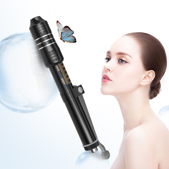 US $129 95 |hyaluron pen hyaluronic injection pen atomizer hyaluron gun  wrinkle removal water syringe needle free injection needless-in Body Paint