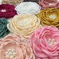 """850 pçs/lote 4 """"Em Camadas de Cetim Flores DIY Artesanato Flores Handmade Falt Volta"""