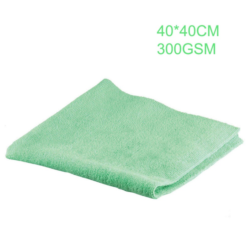 Image 5 - 1Pcs New Microfiber Auto Detailing Towel 40x40cm 300GSM  Ultra Soft Edgeless Towel Perfect For Car Washing Paint Care Accessory-in Sponges, Cloths & Brushes from Automobiles & Motorcycles