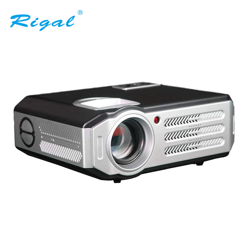 Rigal Video Digital Projector Meeting 5 8 Inch 3200 Lumens High Brightness Low Noise RD 817