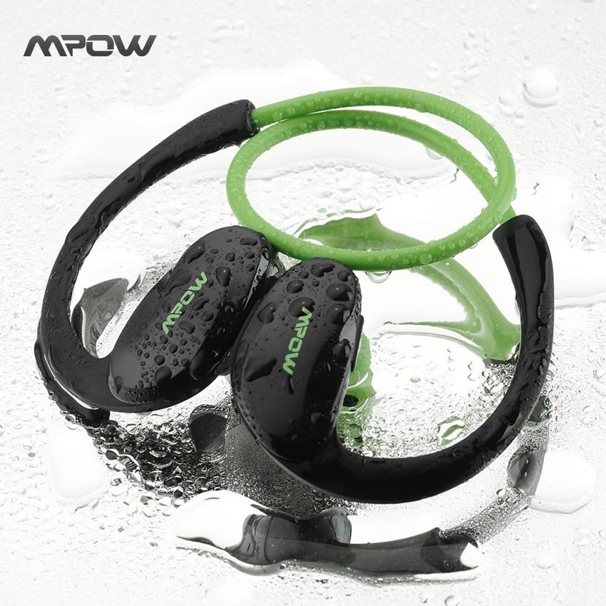 bilder für Mpow Cheetah Sport Bluetooth 4,1 Kopfhörer Wireless Stereo AptX Headset Kopfhörer mit Mic Freisprechfunktion für Smartphones