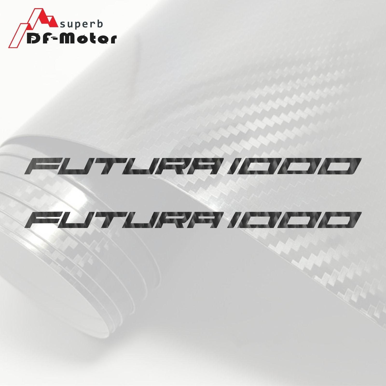 8Inch 5D Carbon Fiber Sticker Decal Motorcycle Car Sticker Wheels Fairing Helmet Sticker DIY For APRILIA RST 1000 Futura