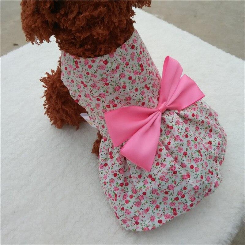 ᗜ LjഃPerla bowknot adorno perro Vestidos vestido de novia para ...