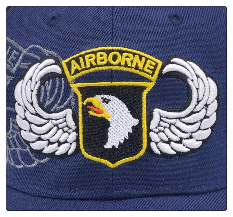 [NORTHWOOD] High Quality 101st Airborne Division Baseball Cap Men US Army Cap Dad Cap AIR FOREC Sport Tactical Cap Bone Snapback