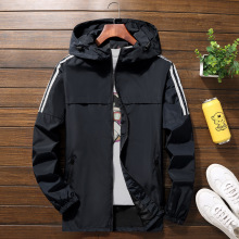 Plus Size 10XL 9XL 8XL 7XL men jacket hooded Jackets Windbreaker Casual Coat for Male Outerwear Streetwear  bomber jacket