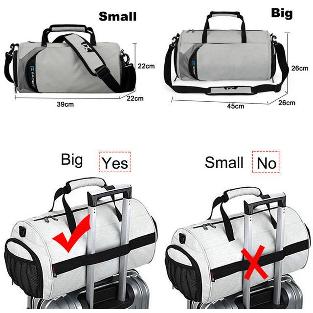 Quick Dry Unisex Gym Bags