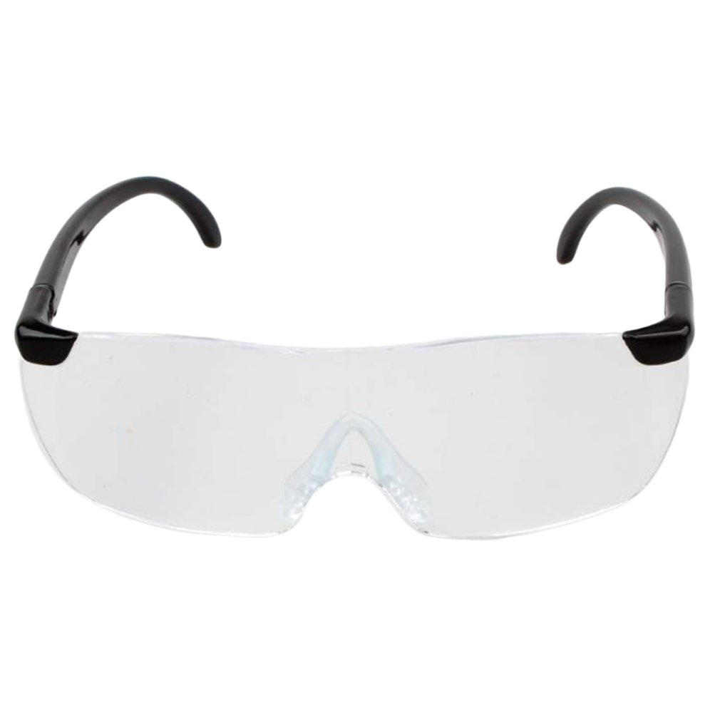 1.6X Magnifying Reading Glasses Flameless Lightweight Eyewear Magnifier 250 Degree Vision Lens for The Elderly Toiletry Kits
