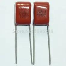 10PCS CL21 104K 250V P7.5 0.1UF 100NF Metallized Film Capacitor
