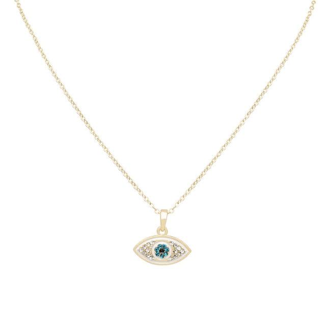 Turkish blue charm kolye crystal nazar necklaces pendants natural turkish blue charm kolye crystal nazar necklaces pendants natural white necklace chokers jewelry turkish israel jewish mozeypictures Images