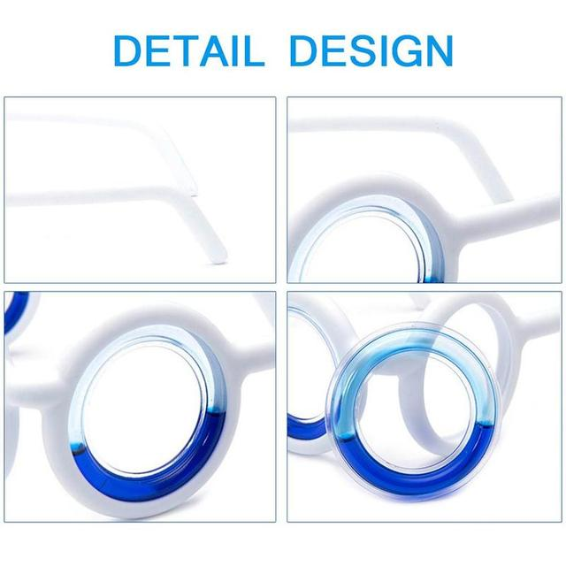 Outdoor Travel Tool Anti-Motion Sickness Glasses Cure Your Motion Sickness in 10-12 Minutes Sickness Glasses Carsickness Glasses 4