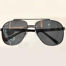 Vintage Da Moda Óculos de Piloto Óculos De Sol Dos Homens Designer de Marca de Alta Qualidade Oculos de sol Masculino Feminino Shades Gradient Lens