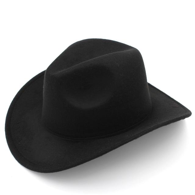 Mistdawn Kids Boys Girls Felt Cowboy Hat Wool Blend Children Western  Cowgirl Cap da8b660e7a0