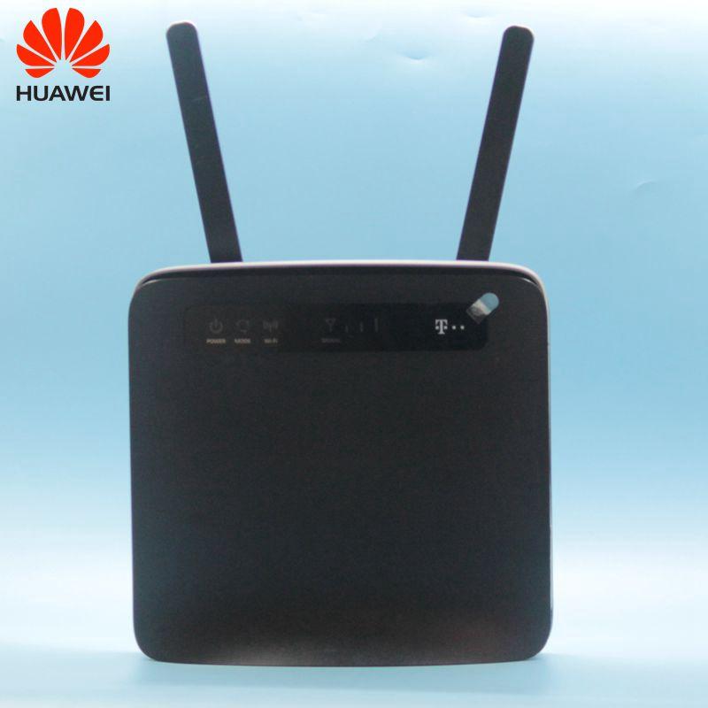 Débloqué utilisé Huawei 4G routeurs E5186 E5186s-22 4G LTE CPE routeur sans fil avec antenne 4G CPE routeur avec carte SIM Sl