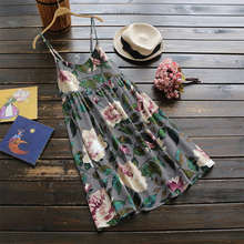 ZANZEA Fashion 2019 Summer Women Sexy Spaghetti Strap Dress Floral Printed Mini Dresses Casual Beach Party Vestidos Plus Size