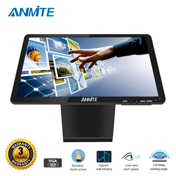"""Anmite 19"""" Lcd Touch Screen Screen New Desktop Resistive/Capacitive Touch Scrn Display The Screen Monitor Pc"""