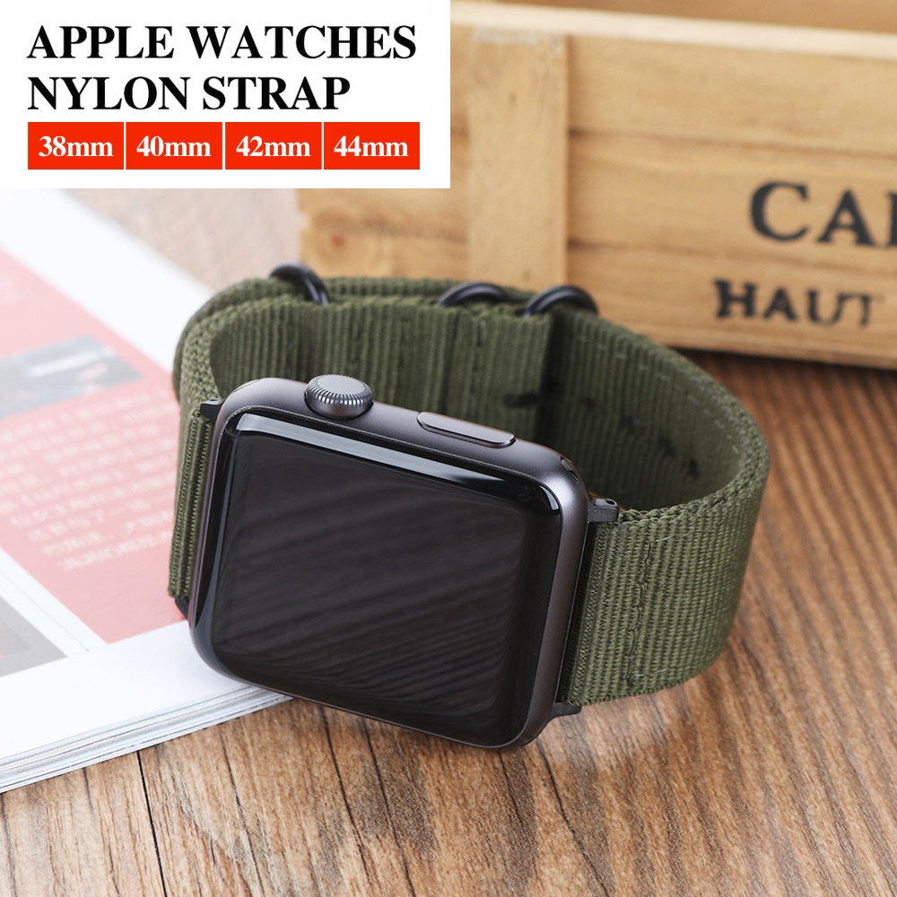 42mm 38mm Colorful Sport Nylon Loop Watch Strap For Apple Watch Band iWatch Series 4 3 2 1 Replacement Straps Wrist Watch Bands42mm 38mm Colorful Sport Nylon Loop Watch Strap For Apple Watch Band iWatch Series 4 3 2 1 Replacement Straps Wrist Watch Bands