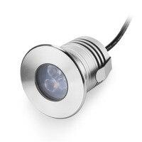 Edelstahl 12 V IP68 Wasserdicht Led-unterwasserschwimmbecken Licht Lampe 3 Watt Spa sauna See Hof Teich brunnen beleuchtung Lampe