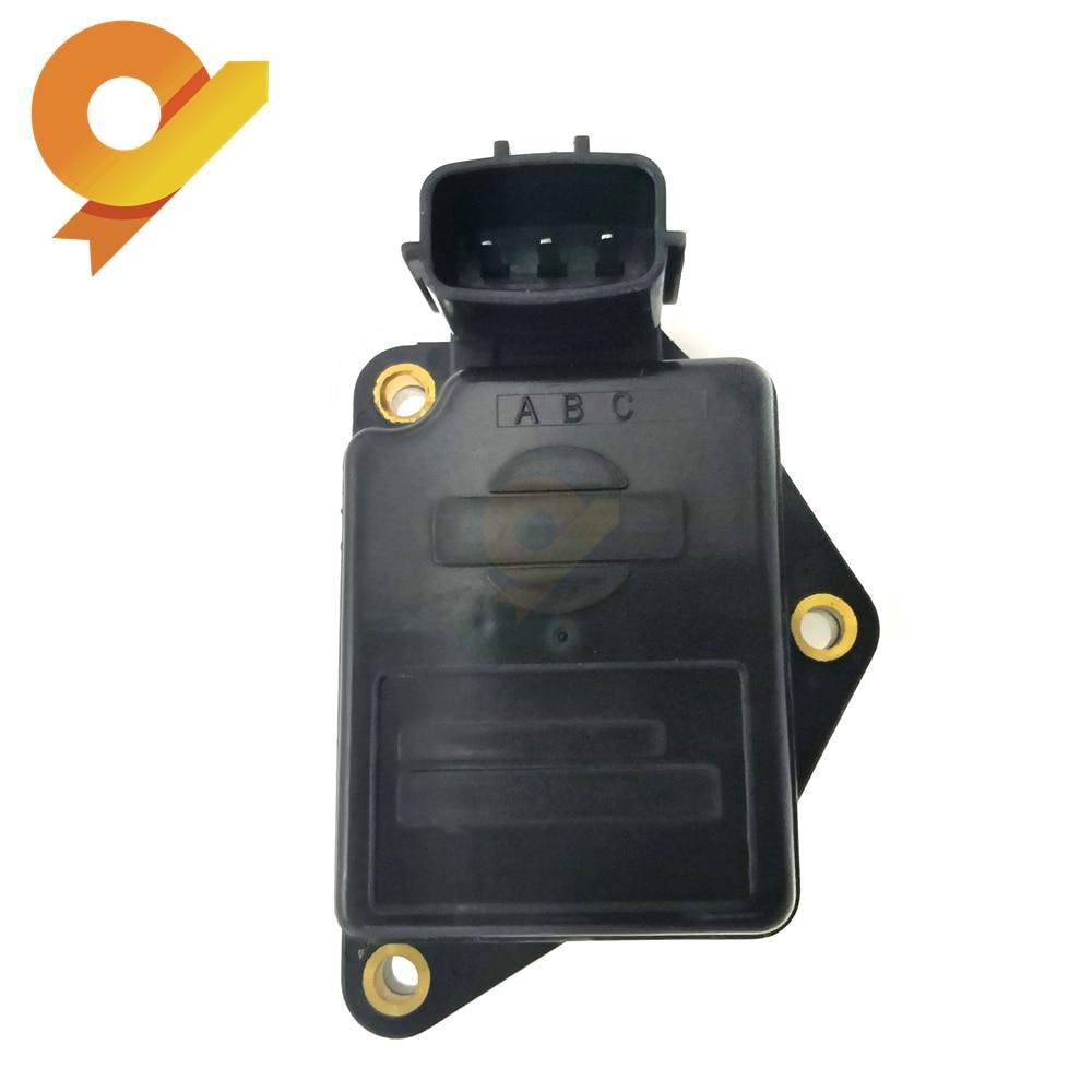 Mass Air Flow Sensor MAF For Nissan D21 Sentra 100NX B13 Primera P10 W10 Sunny 3 III 1.4 1.6 2.0 AFH45M-46 AFH45M46Mass Air Flow Sensor MAF For Nissan D21 Sentra 100NX B13 Primera P10 W10 Sunny 3 III 1.4 1.6 2.0 AFH45M-46 AFH45M46