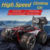 1/10 альпинистский RC автомобиль 4WD 2,4 ГГц высокоскоростной RC автомобиль рок ралли двойные двигатели Bigfoot автомобиль дистанционное управление