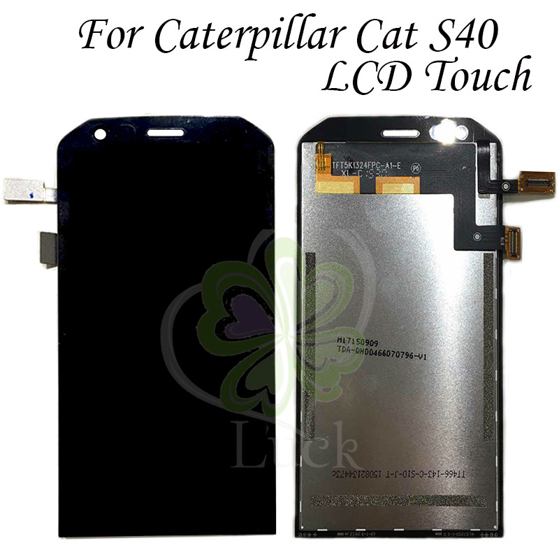 100 Tested LCD screen display Touch Screen digitizer For 4 7 Caterpillar CAT S40 LCD For