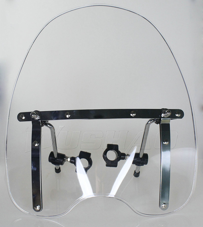 Motorcycle Windshield WindScreen For Harley Electra Glide
