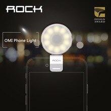 ROCK OMI Phone Light LED light-compensating lamp, Metal Alloy camera flashlight, warm leds lights for phone camera